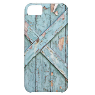 Vintage - Blue Weathered Paint iPhone 5C Case