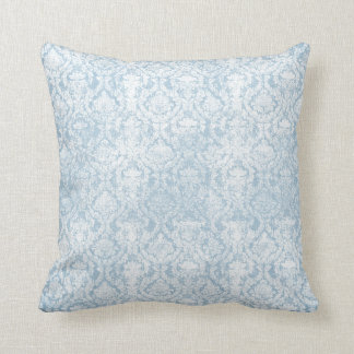Vintage blueberry floral design cushion