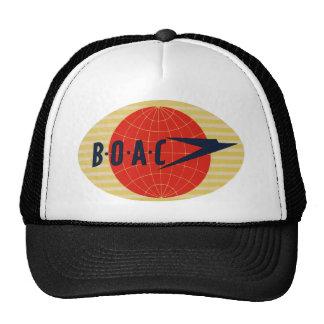 Vintage BOAC Airline Logo Cap