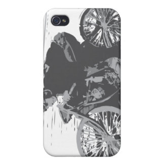 Vintage Board Track Motorcycle Racer#3 iPhone 4/4S Case