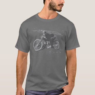 Vintage Board Track Motorcycle Racer#3 T-Shirt