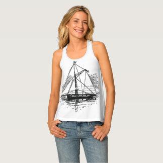 Vintage Boat Singlet