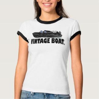 Vintage Boat Transport Designer T-Shirt Clothing