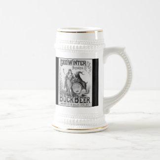 Vintage Bock Beer Stein