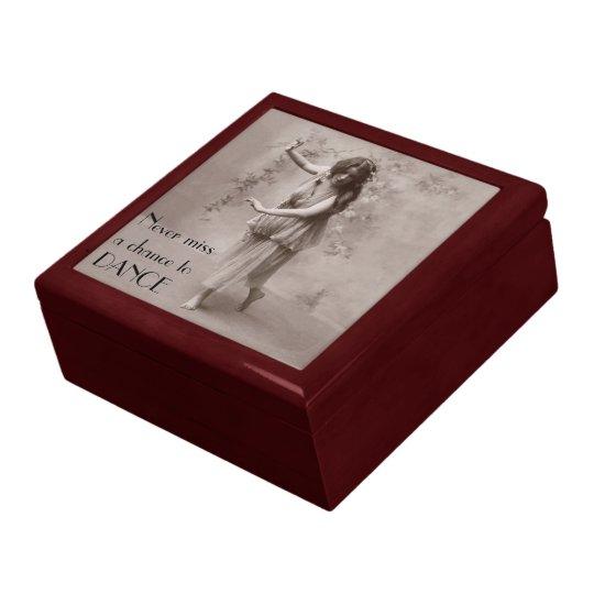 Vintage Bohemian Woman Gift Box