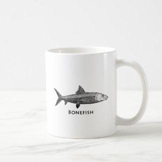 Vintage Bonefish Illustration Coffee Mug