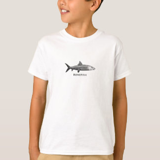 Vintage Bonefish Illustration T-Shirt