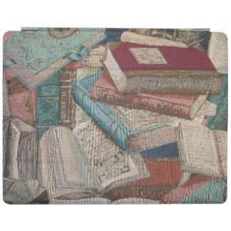 Vintage Books Background Book Lovers iPad Cover