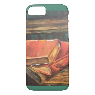 Vintage Books Painting iPhone 7 Case
