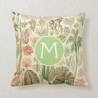 Vintage Botanical Illustrations | Custom Pillow