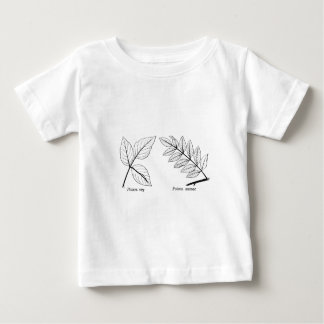 Vintage Botanical Leaves Baby T-Shirt