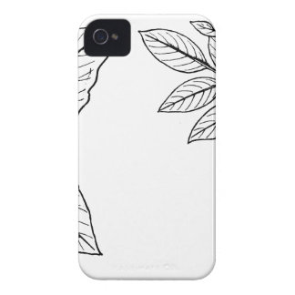 Vintage Botanical Leaves iPhone 4 Covers