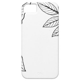 Vintage Botanical Leaves iPhone 5 Case
