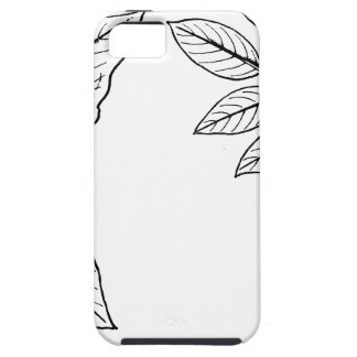 Vintage Botanical Leaves Tough iPhone 5 Case