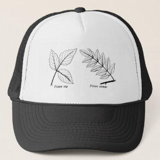 Vintage Botanical Leaves Trucker Hat