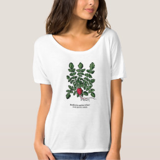 Vintage Botanical T-Shirt - Small Garden Radish