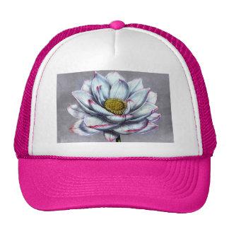 Vintage Botanicals Indian Lotus Flower Trucker Hat