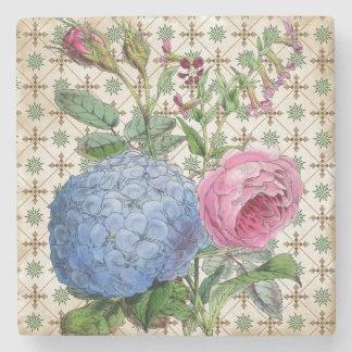 Vintage Botanicals Stone Coaster