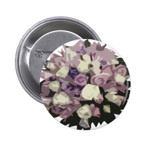 Vintage Bouquet Badge