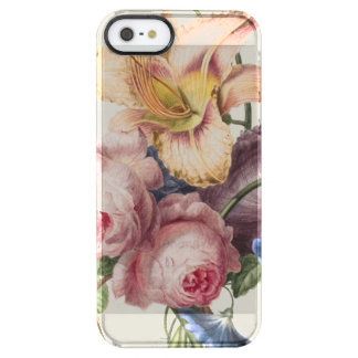 Vintage Bouquet Clear iPhone SE/5/5s Case