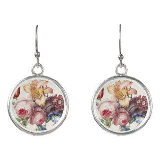 Vintage Bouquet Earrings