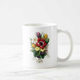 Vintage Bouquet, Flowers Coffee Mug