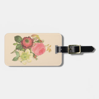 Vintage Bouquet Luggage Tag
