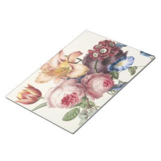 Vintage Bouquet Notepad