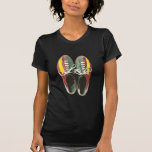 Vintage Bowling Shoes Retro Bowling Shoe Tshirt