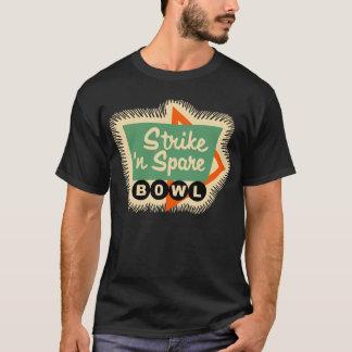 Vintage Bowling - Strike 'n Spare Bowl T-Shirt
