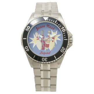 Vintage Bowling Themed Watch