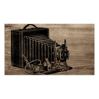Vintage Box Camera Pack Of Standard Business Cards