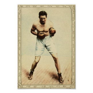 Vintage Boxer Poster