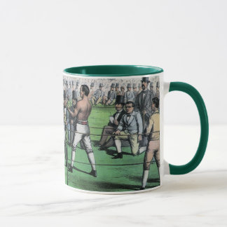 Vintage Boxing, Great Fight for the Championship Mug