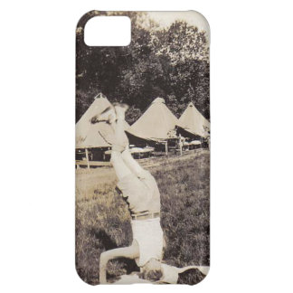 Vintage Boy Scout Hand Stand iPhone5 Case iPhone 5C Case