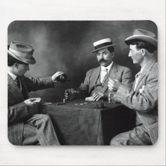 Vintage Boys Night Out Mouse Pad