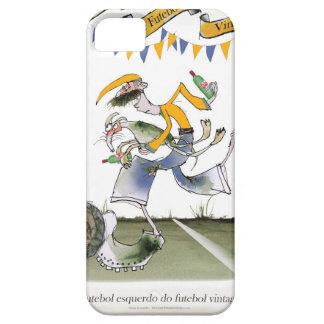 vintage brazil left wing footballer iPhone 5 case
