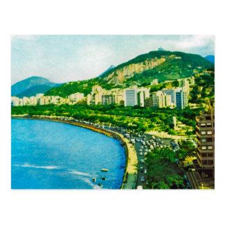 Vintage  Brazil, Rio de Janero Postcard