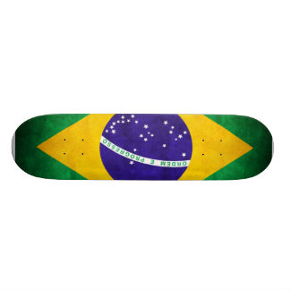 Vintage Brazil Custom Skate Board
