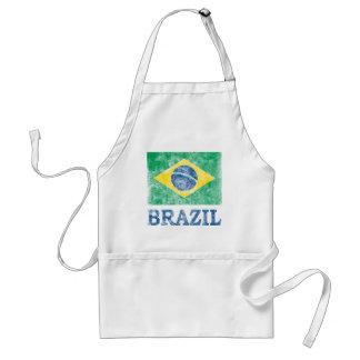 Vintage Brazil Standard Apron