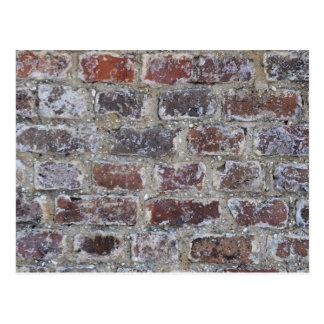 Vintage Brick Postcard