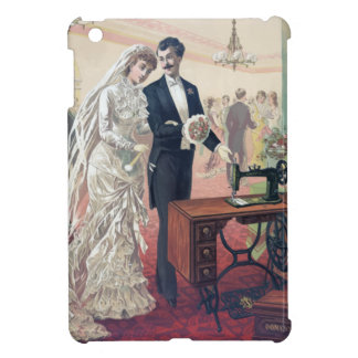 Vintage Bride And Groom Illustration Case For The iPad Mini