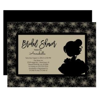 Vintage Bride Bridal Shower Invitation
