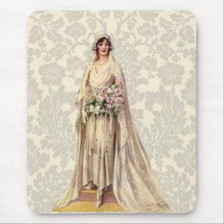 Vintage Bride Mouse Pad