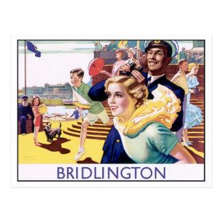 Vintage Bridlington Postcard