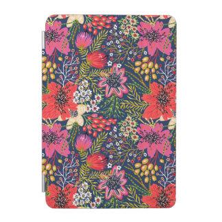 Vintage Bright Floral Pattern iPad Mini Cover