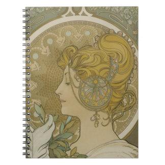 Vintage Brigid Notebook