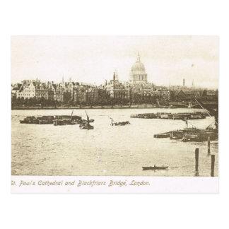 Vintage Britain, London, St Paul's Cathedral, Postcard