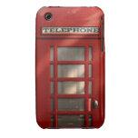 Vintage British Red Telephone Box iPhone 3 Case-Mate Cases