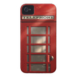 Vintage British Red Telephone Box iPhone 4 Cover